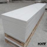 Superficie del solido di Staron della pietra dell'acrilico di bianco 6mm del ghiacciaio
