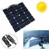 comitato monocristallino delicatamente flessibile solare di energia solare di Sunpower del comitato di 12V 50W