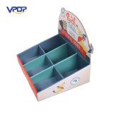 Progettare la contro scatola per il cliente di presentazione del cartone con lo scompartimento