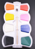 8colors Cake de van uitstekende kwaliteit van de Kleur van het Water voor Jonge geitjes en Studenten