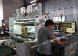El PLC controla la velocidad que revisa y máquina el rebobinar