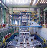 鋼鉄花の連続鋳造機械
