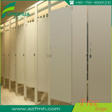 Taille normale partition en bois de toilette de résine phénolique de 18 millimètres