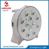 12 luz recargable del vector del PCS SMD LED Emergencu