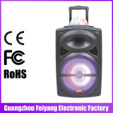 Altavoz recargable más barato popular de Feiyang/Teimeisheng Bluetooth con la bola del LED--LA-0216D