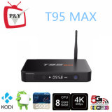 최신 T95max 인조 인간 텔레비젼 상자 2GB/32GB T95 최대 S905 인터넷 텔레비젼 세트 상단 상자