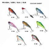 Pr-Gsa/Gsb/Gla/Glb künstlicher Plastikköder mit Haken-Weiche-Phasenfischen-Köder