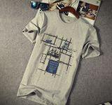 Le T-shirt de mode des hommes simples de tendance