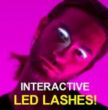 최신 판매 변화 대화식 방수 속눈섭 LED 눈 채찍질