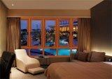 Cer-Bescheinigung-moderne Art-Aluminiumrahmen-Fenster mit ausgeglichenes Glas-Bildschirm-Schoner