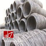 Preço laminado a alta temperatura de Rod de fio de aço de ASTM SAE1006 5.5mm