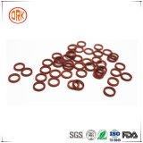 Peças de automóvel de borracha vermelhas da gaxeta do anel de Viton U dos produtos de borracha