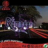 Indicatore luminoso impermeabile del Palo Eid della via del LED per la decorazione Ce&RoHS di Ramadan