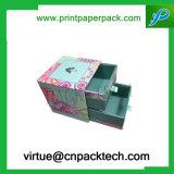 Cadre de bijou personnalisé de mémoire de tiroir de carton d'impression