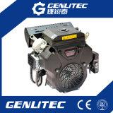 motor de gasolina eléctrico refrescado aire del comienzo del cilindro de 14kw/19HP V 2