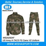 Versión determinada de la economía del uniforme del combate del campo de Fg Camo V2 de los a-Tacs del Ejército del EE. UU.