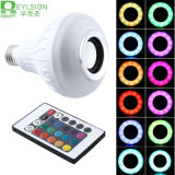 E27 12W Smart RGB Wireless Bluetooth LED Bulb Light
