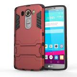 Estojo para celular caso de armadura para LG Fully Series Power Iron Man Case