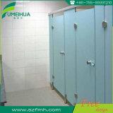 Compartimento do toalete da placa de Fmh HPL e ferragem do aço inoxidável