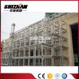 Il fascio di alluminio quadrato del bullone/vite di Shizhan 400*400mm con rinforza il piatto ed il tubo