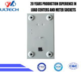 Gpd2f Caixa de painel de controle elétrico de metal de 2 vias