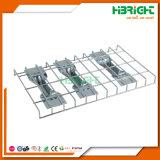 Estante selectivo de la paleta del metal del almacén del almacenaje del sistema de acero industrial de la estantería