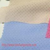 Ткань Fiberb ткани полиэфира покрашенная тканью химически Perforated для тканья дома одежды детей пальто платья женщины