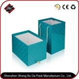 Rectángulo de empaquetado de papel reciclado del regalo material del rectángulo