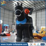 Популярные ужасные раздувные напольные лошадь/тыква привидения Halloween для потехи
