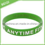 Il nuovo prodotto personalizza il silicone impresso con il braccialetto del Wristband di stampa