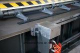 Máquina cortada do sulco do metal de folha V hidráulico