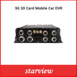 автомобиль DVR карточки 3G SD передвижной