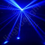 2X10W DMX disco noche club etapa LED mariposa luz