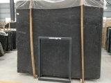 De hete DwarsBesnoeiing Opgepoetste Houten Tegels van de Muur van de Vloer van de Korrel Zwarte Marmeren