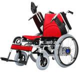 La silla de rueda de acero de Electirc puede plegable