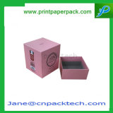 Caixa de empacotamento da vela relativa à promoção feita sob encomenda do presente do papel revestido com ISO9001