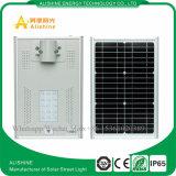 sistema de iluminación solar integrado 15W para el estacionamiento del jardín de la calle