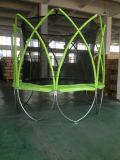Moda diseño de la forma redonda con Trampolín Spark recinto