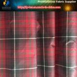 Tela teñida hilado con impermeable para la chaqueta, tela del tafetán del poliester de la memoria, (LY-YD1037)