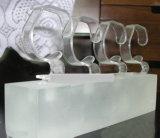 Neuer freier Acryluhr-Ausstellungsstand-Uhr-Aufbruch-Ausstellung-Standplatz