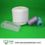 42/2 hilo de coser hecho girar de los hilados de polyester