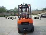 China Forklift Attachment 3ton Diesel Forklift Truck with Sanitation Fork