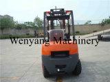 Diesel van de Gehechtheid van de Vorkheftruck van China 3ton Vorkheftruck met de Vork van de Hygiëne