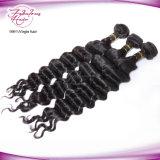 Da cutícula cabelo indiano por atacado cru natural ondulado frouxo Intact
