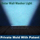 Preço de fábrica LED Wall Washer Solar Light IP65 Outdoor Low Power 12W Ultra fino LED Wall Washer