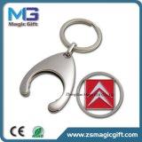 도매 선전용 사기질 트롤리 Keychain