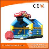 子供T1018のための弾力がある、膨脹可能な警備員の家の跳躍