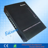 Material de oficina central telefónica 2 Co líneas 6 extensiones PBX Analogía