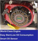 車輪が付いている2.8kwガソリン発電機への2kw