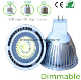 Bulbo do diodo emissor de luz do Ce 5W MR16 de Dimmable